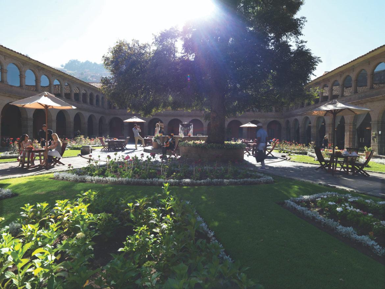 Das Belmond Hotel Monasterio ist eine ehemaligs Kloster mit einer großen Kunstsammlung.