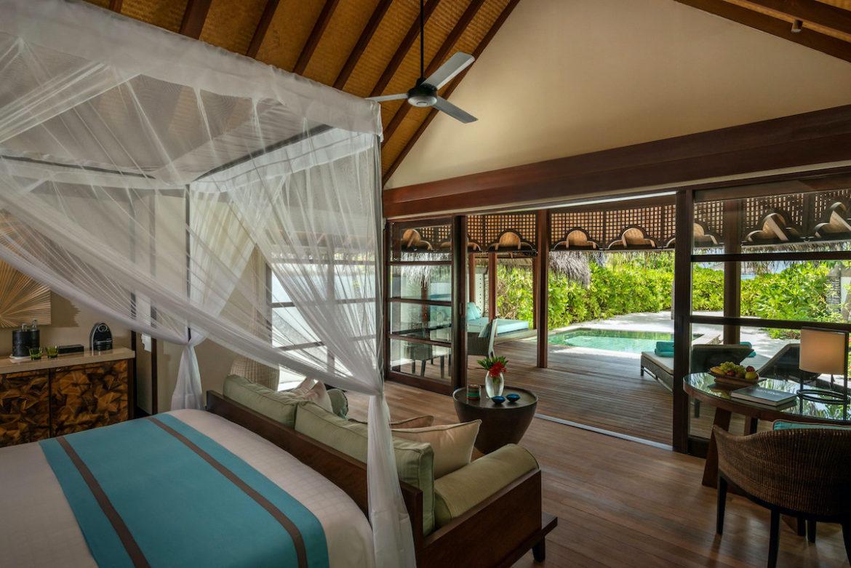 Beachbungalow im Resort Kuda Huraa Malediven