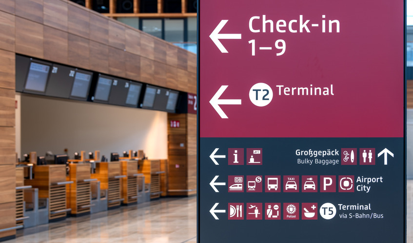 Impressionen vom Flughafen Berlin Brandenburg vom November 2019. Foto BER