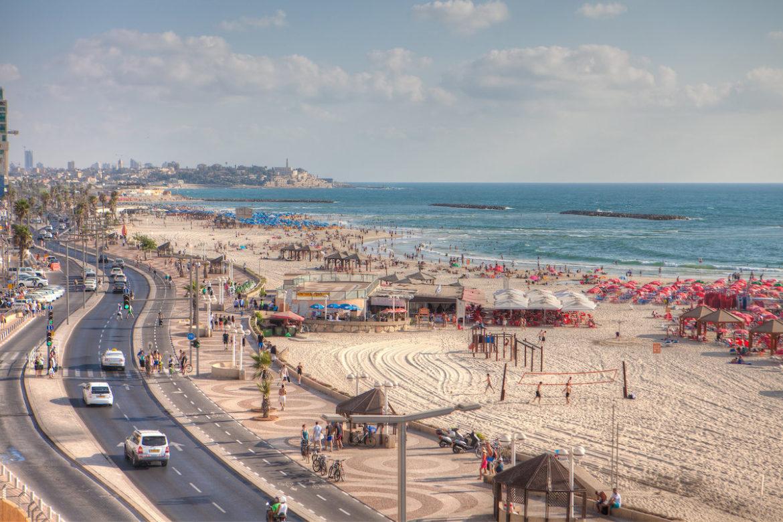 Strandpromenade Tel Aviv, Staatliches Israelisches Verkehrsbüro