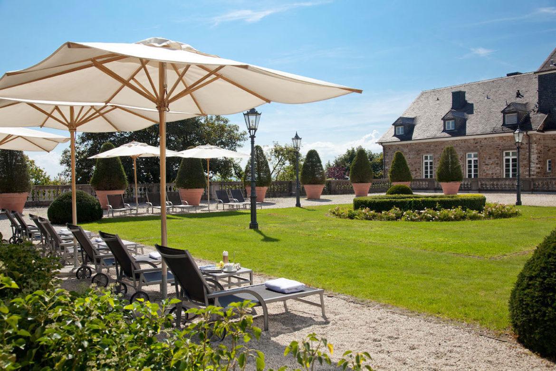 Schlossgarten, Althoff Grandhotel Schloss Bensberg