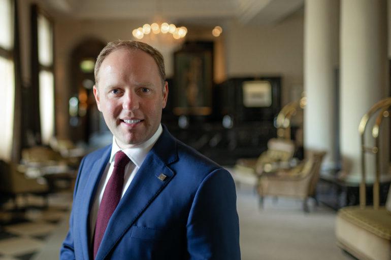 Matthias Kienzler, Hotelmanager, Althoff Grandhotel Schloss Bensberg