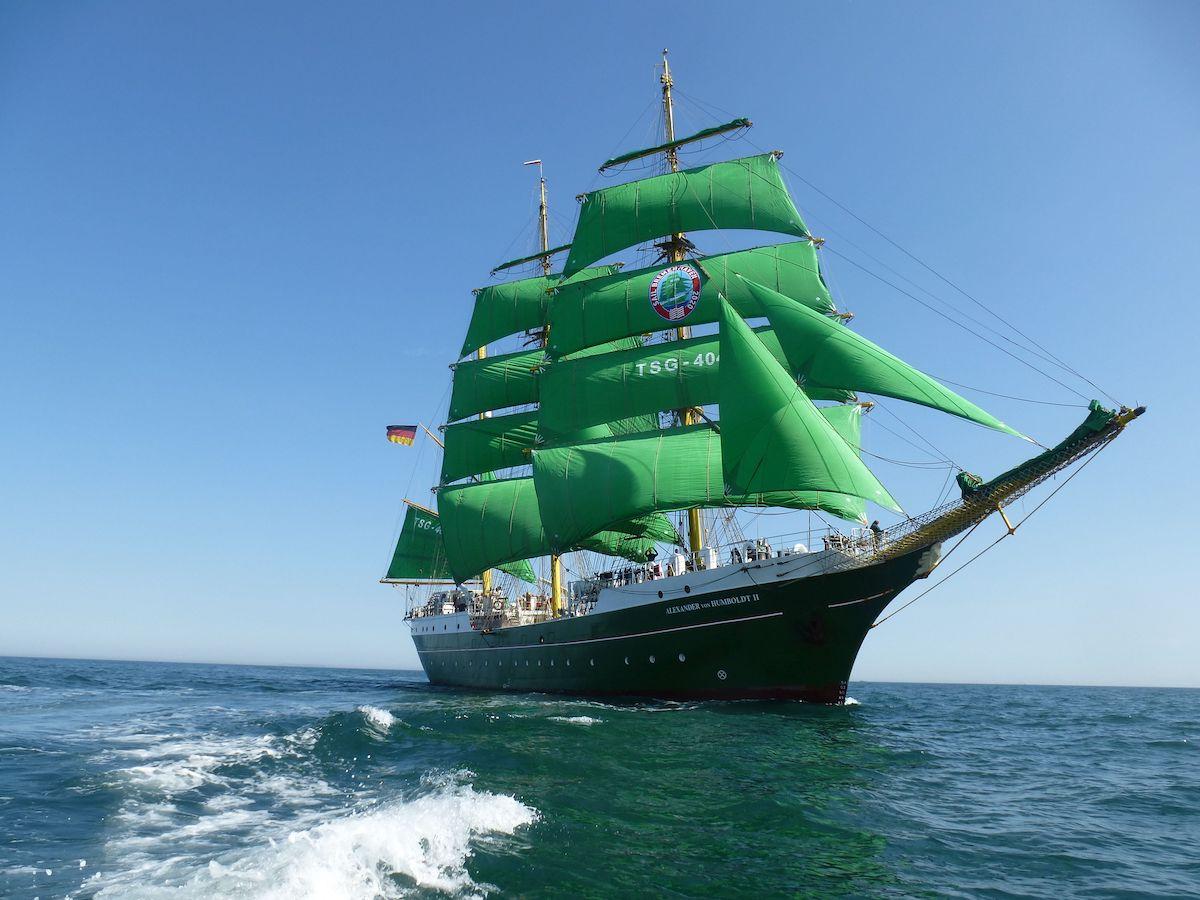 Kameradschaft erleben auf dem Segelschulschiff Alexander von Humboldt 2