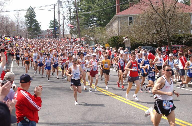 Dertour organisert die Startnummern für die großen 4 Marathons in Boston, New York, Tokio und London.